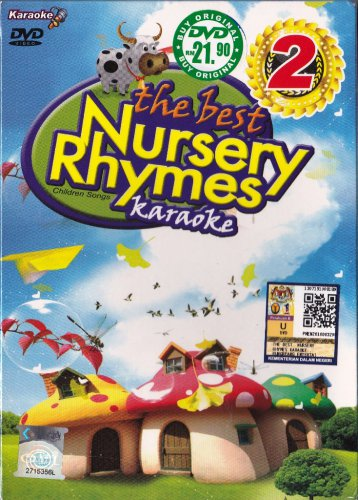 DVD Karaoke Best Nursery Rhymes 51 Children Songs Vol.2 English Sub Region All