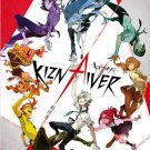 DVD JAPANESE ANIME Kiznaiver Complete TV Series 1-12End English Sub Region All
