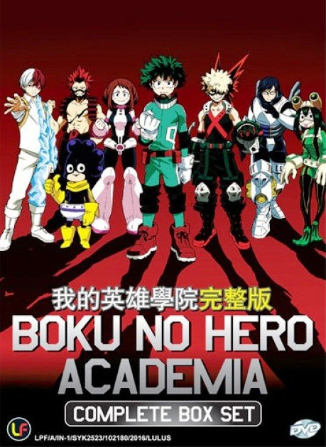DVD JAPANESE ANIME My Hero Academia Season 1 Vol.1-13End Boku no Hero Academia