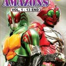 DVD KAMEN MASKED RIDER AMAZONS Complete TV Series Vol.1-13End English Sub