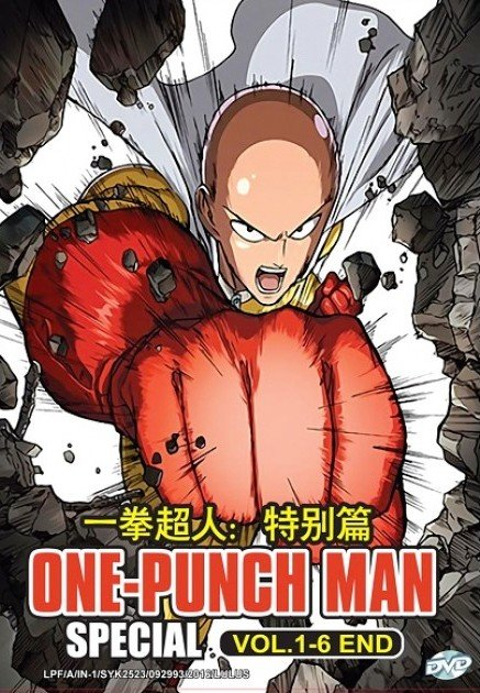 DVD JAPANESE ANIME One Punch Man Special Vol.1-6End Wanpanman English Sub