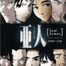 DVD Ajin Demi-Human Vol.1-13End Japanese Anime Region All English Dubbed