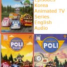 ROBOCAR POLI 3 DVD NEW Korean Animated Children Cartoon TV Series 42 Episodes
