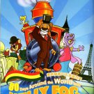 DVD 80 Days Around The World With Willy Fog Vol.1-26End Anime English Audio