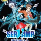 DVD Servamp Vol.1-12End Vampire Japanese Anime English Sub Region All