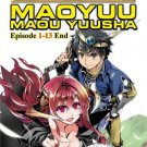 DVD Maoyuu Maou Yuusha Vol.1-13End Archenemy And Hero Anime English Sub