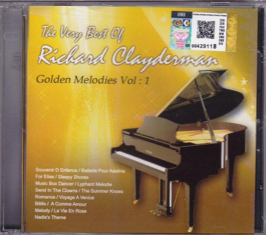 RICHARD CLAYDERMAN The Very Best of Golden Melodies Vol.1 CD New 22 Tracks