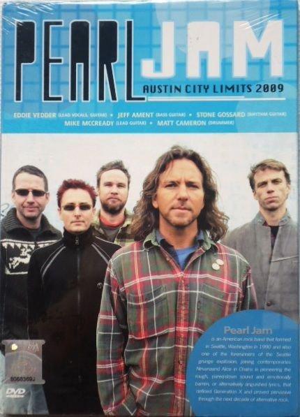 PEARL JAM Austin City Limits 2009 DVD NEW Surround Dolby NTSC PAL Region All