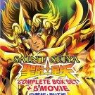 DVD Saint Seiya TV Series + Hades + Lost Canvas + Soul of Gold + 5 Movies