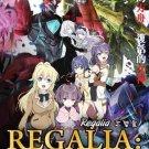 DVD Regalia The Three Sacred Stars Vol.1-13End Japanese Anime Mecha English Sub