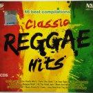 CD Classic Reggae Hits 46 Best Compilation Bob Marley Desmond Dekker Jimmy Cliff