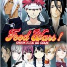 DVD Food Wars! Shokugeki no Soma Season 1-2 Vol.1-37End Anime English Sub