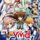 DVD ANIME Magical Girl Lyrical Nanoha ViVid Strike! Vol.1-12End English Sub