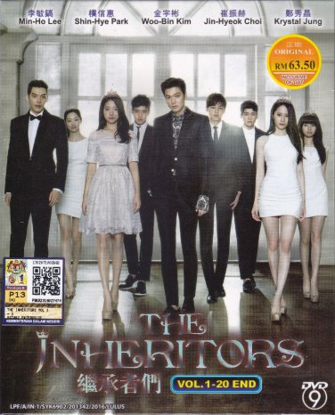 DVD The Inheritors 继��� The Heirs Lee Min Ho Korean TV Drama English Sub