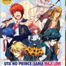 UTA NO PRINCE SAMA Maji Love 1000% 2000% + Revolutions Season 1-4 English Sub