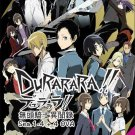 DVD DURARARA!! DRRR!! Season 1-4 + 4 OVA Japanese Anime English Audio Region All