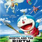 DVD Doraemon The Movie Nobita And The Birth of Japan Anime English Sub