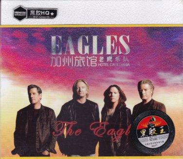 EAGLES Hotel California Greatest Hits Music 3 CD Black Rubber CD Premium Quality