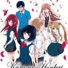 DVD Kuzu no Honkai Vol.1-12End Scum's Wish Anime TV Series English Sub Region 0