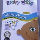 Brainy Baby Right Brain Inspires Creative Thinking DVD