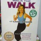 Walk the Walk with LESLIE SANSONE (3DVD set)