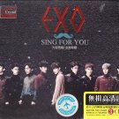 EXO Sing For You + Greatest Hits 3CD Korean Band K-Pop Gold Disc 24K  Hi-Fi
