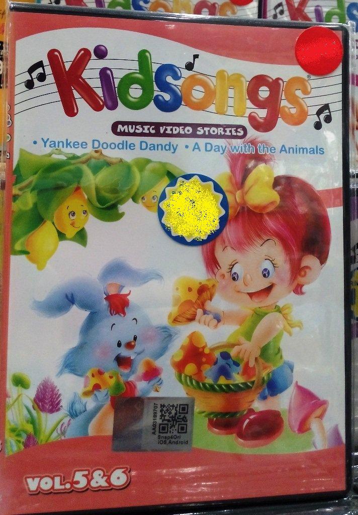 DVD Kidsongs Music Video Stories Vol.5&6 English Sub Region All