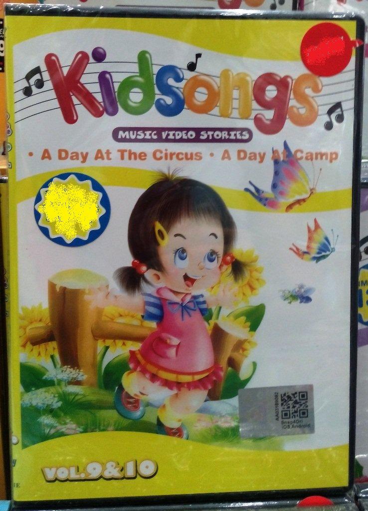 DVD Kidsongs Music Video Stories Vol.9&10 English Sub Region All