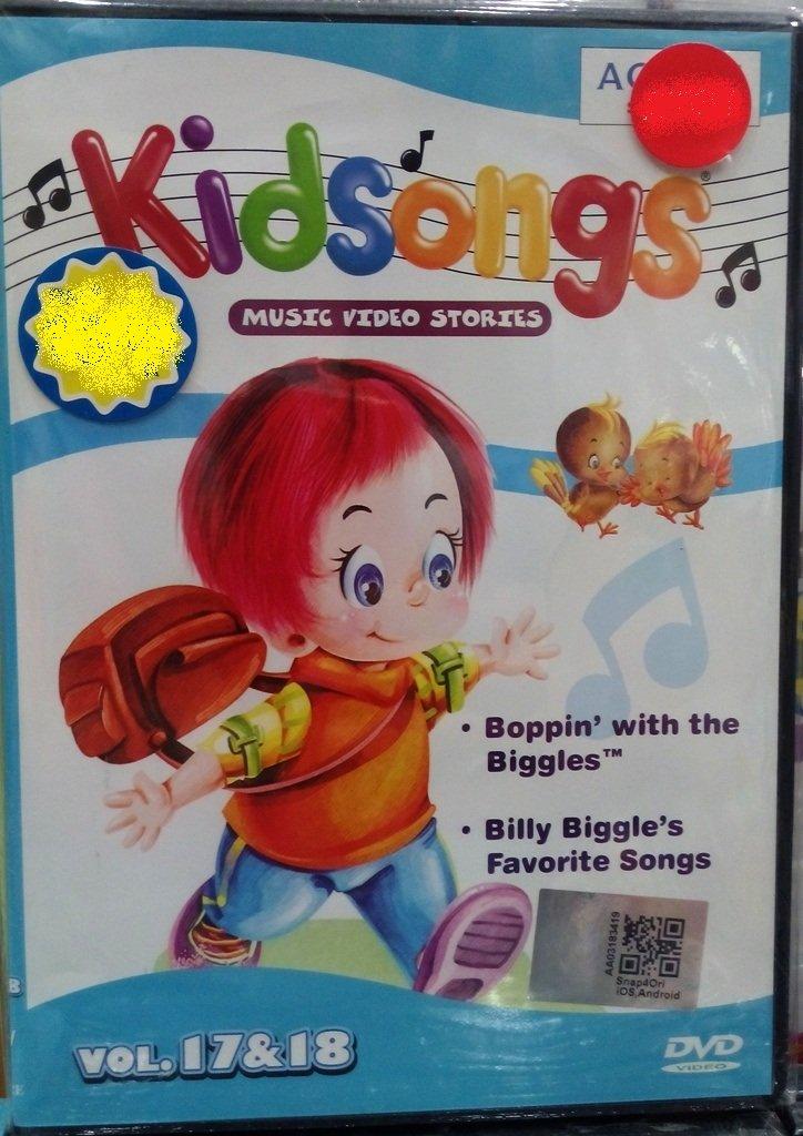 DVD Kidsongs Music Video Stories Vol.17&18 English Sub Region All