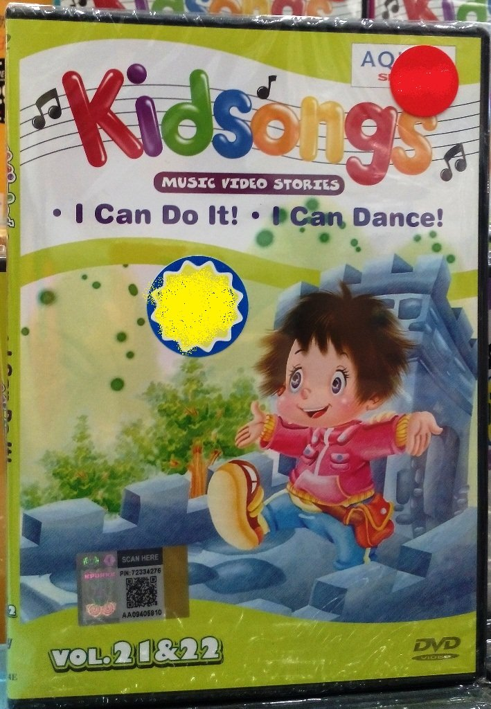 DVD Kidsongs Music Video Stories Vol.21&22 English Sub Region All