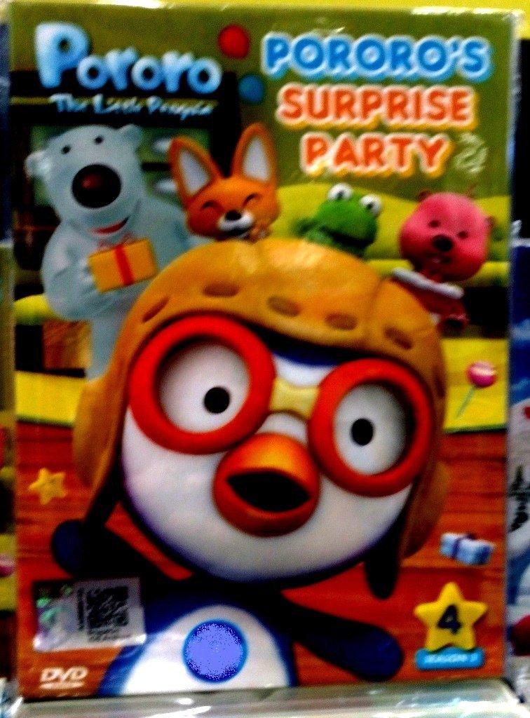 DVD ANIME Pororo The Little Penguin Pororo´s Surprise Party  English Audio English sub