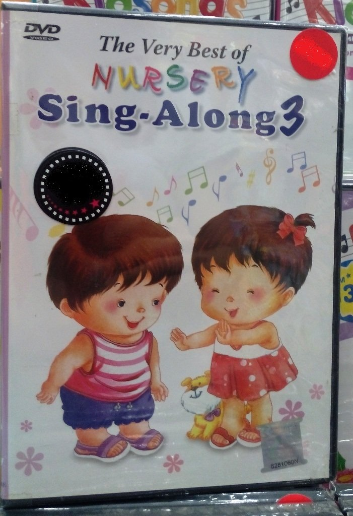 DVD ANIME The Very Best of Nursery Sing-Along 3  English Audio English sub