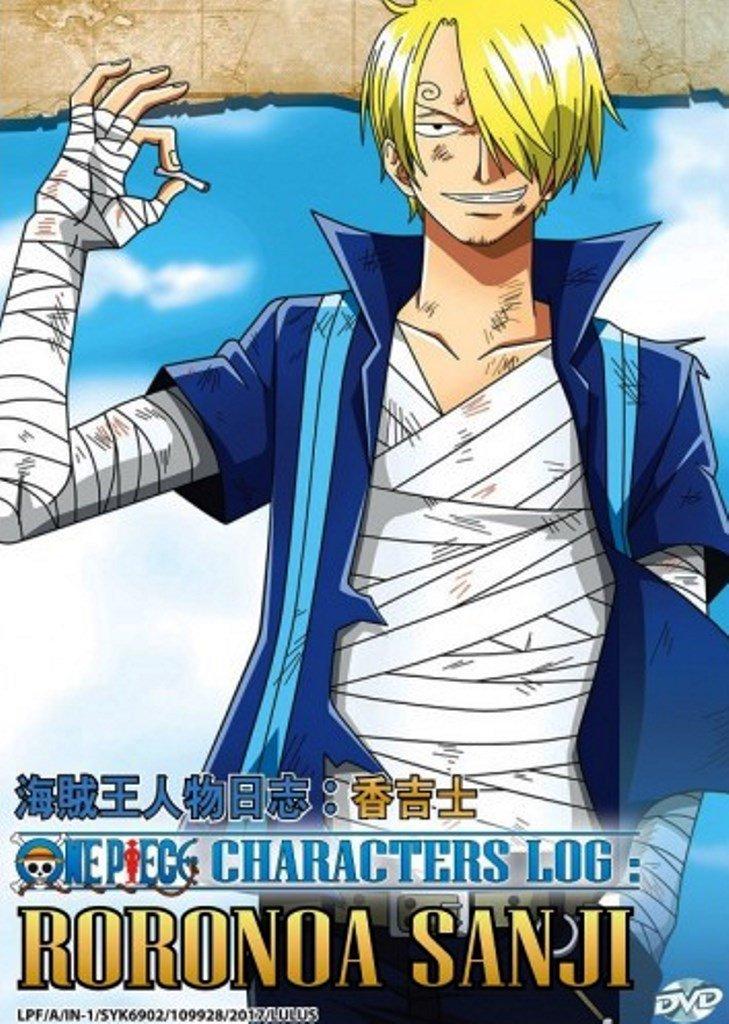 DVD One Piece Characters Log Roronoa Sanji Japanese Anime English Sub Region All
