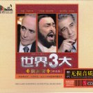 THREE TENORS Pavarotti Domingo Carreras Greatest Hits Deluxe Edition 3 CD Hi-Fi