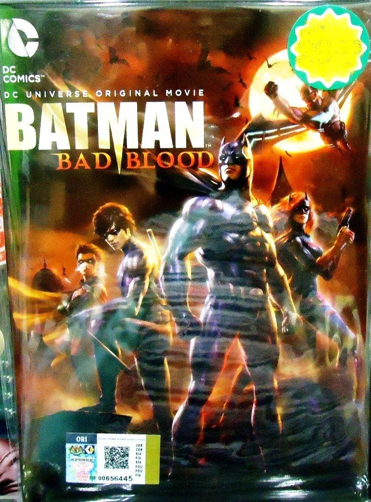 DC Universe Movie Batman Bad Blood Anime DVD