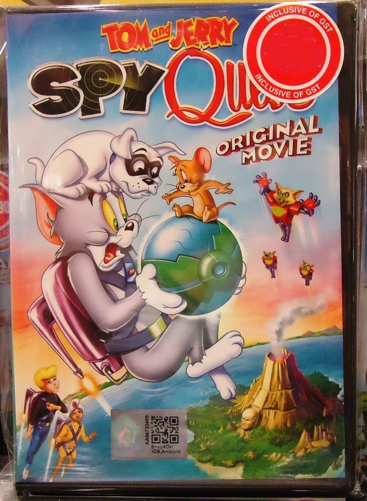 Tom and Jerry Spy Quest Movie Anime DVD