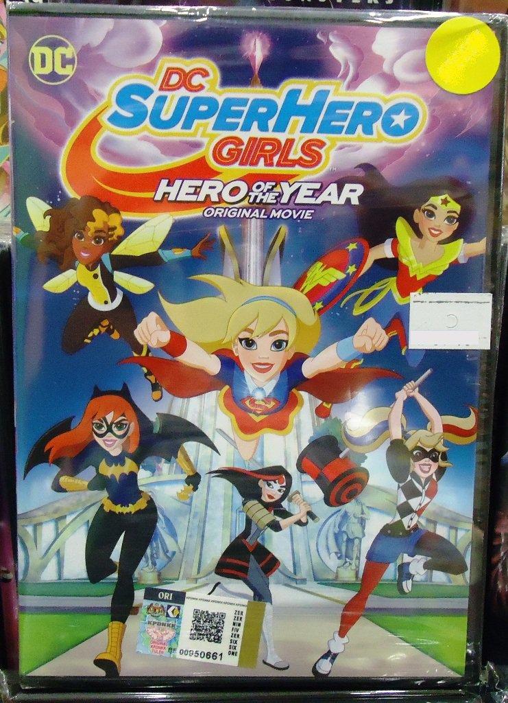 DC Movie DC SuperHero Girls Anime DVD