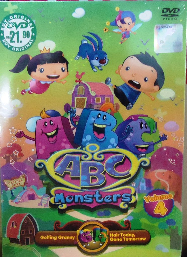 ABC Monsters Volume 4 Anime DVD
