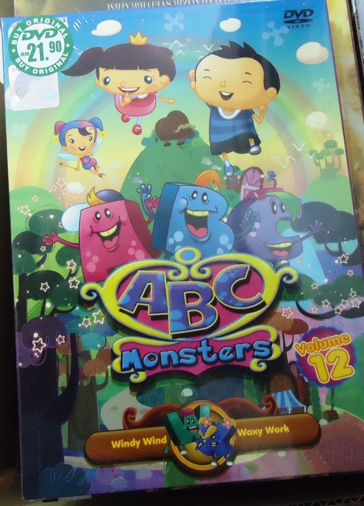 ABC Monsters Volume 12 Anime DVD