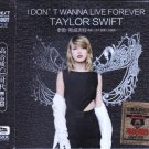 TAYLOR SWIFT I Don't Wanna Live Forever + Greatest Hits 3 CD HD Mastering