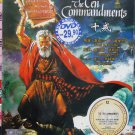 The Ten Commandments DVD English audio