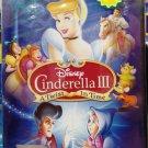 Disney Cinderella III A Twist In Time DVD