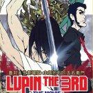 DVD ANIME Lupin The 3rd The Movie Chikemuri no Ishikawa Goemon English Sub