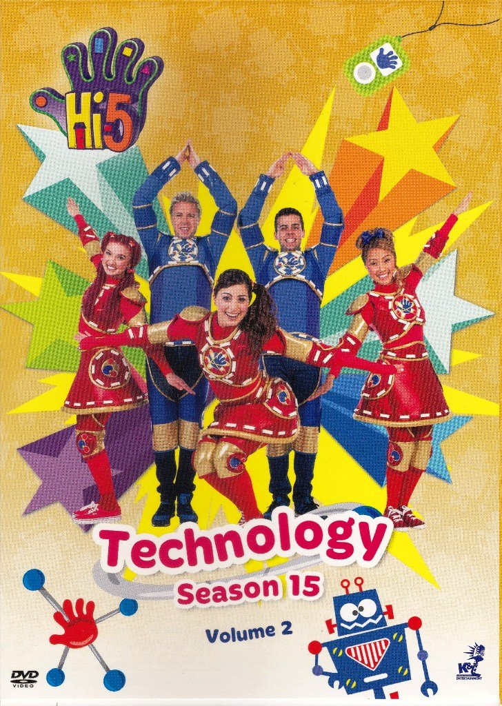 DVD Hi-5 Season 15 Vol.2 Technology 5 Episodes Australia Series Region All