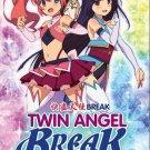 DVD Twin Angel Break Vol.1-12End Kaito Tenshi Twin Angel Anime English Sub