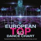 European Top 40 Dance Chart 2CD New DJ Antoine Cascada Groove Coverage