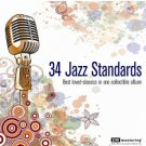 34 Jazz Standards (2CD) DW mastering, 24bit 96kHz Audiophile