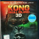 KONG Skull Island Tom Hiddleston 3D Blu-ray Multi Language Multi Sub