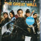 The Great Wall Matt Damon Andy Lau  Blu-ray Multi Language Multi Sub