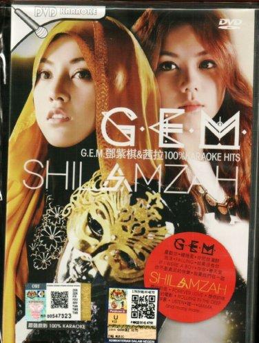 G.E.M & SHILAMZAH 100% Karaoke Hits �紫� �� DVD